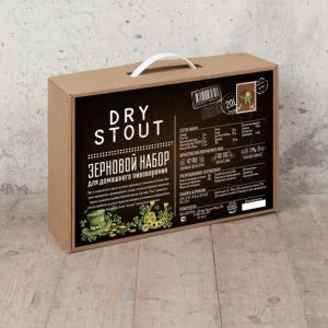 BrewBox «Dry Stout» (Сухой Стаут) на 23 л пива