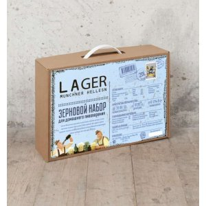 BrewBox «Munchner Helles Lager» (Мюнхенское светлое) на 23 л пива