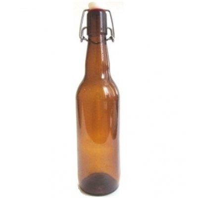 Бутылка с бугельной крышкой 0,7 л (коричневая)