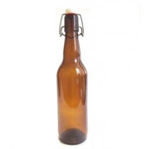 Бутылка с бугельной крышкой 0,5 л (коричневая)