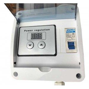 Цепь: ТЭН 3 кВт + регулятор Тополь до 4 кВт (triclamp 2 дюйма)