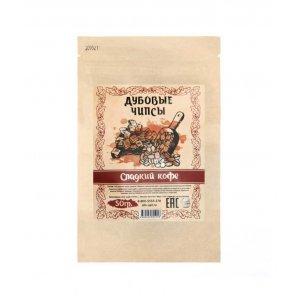 Дубовые чипсы («Сладкий Кофе»), 50 гр (на 10 л)