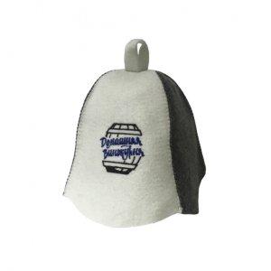Шапка банная с логотипом «Домашняя Винокурня»
