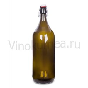 Бутылка «Бомба» 2 л (темное стекло)