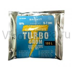 Дрожжи Turbo Grom (Польша), 340 гр