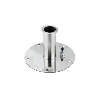 Крышка-фланец для бака «Добровар» с выходом под кламп 1½