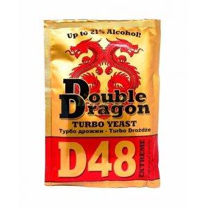 Дрожжи Double Dragon D48, 132 гр