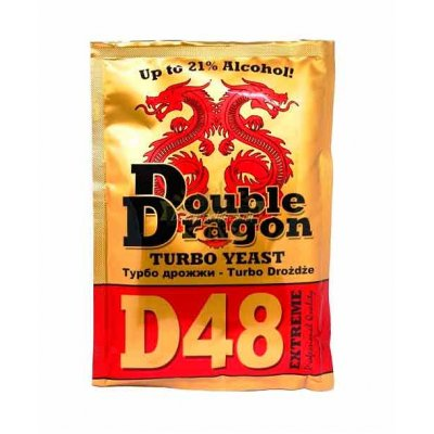 Дрожжи Double Dragon D48, 132 гр