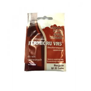 Дрожжи винные Fermicru VR5, 7 гр