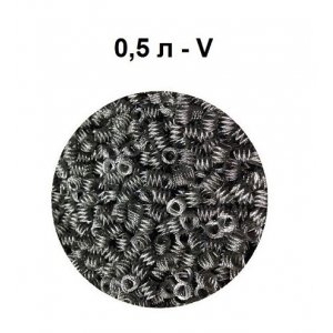 Насадка Селиваненко нерж (4X4 мм), 0,5