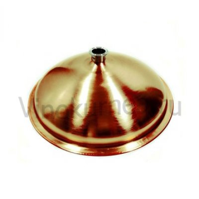 Крышка купольная медная на «Абсолют» 25 л  (д=32 см)