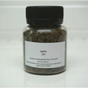 «Мята» для настойки, 20 гр
