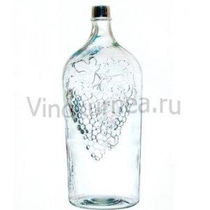Бутыль «Виноград» 7 л