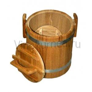 Кадка дубовая (Экспорт) на 10 л