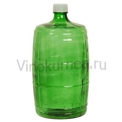 Бутыль «Казак» 22 л (зеленая)