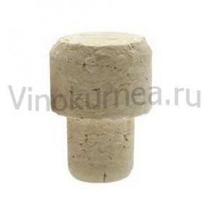 Пробка корковая грибообразная, 19 мм