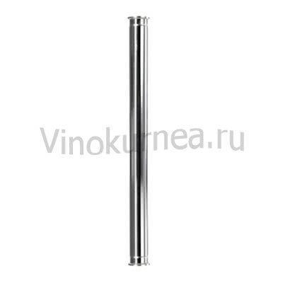 Царга 100 см пустая, Ø 40мм (TriClamp 1,5 дюйма)