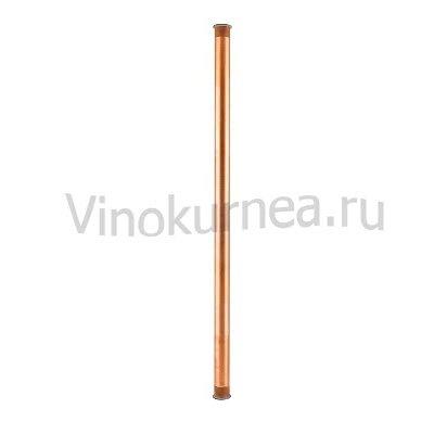 Царга медная 100 см пустая, Ø 40мм (TriClamp 1,5 дюйма)