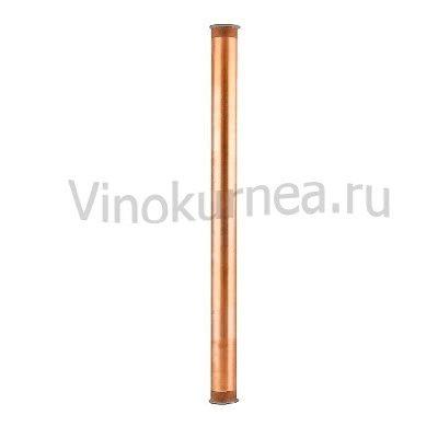 Царга медная 100 см пустая, Ø 50мм (TriClamp 2 дюйма)
