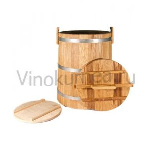 Кадка дубовая (Экспорт) на 20 литров