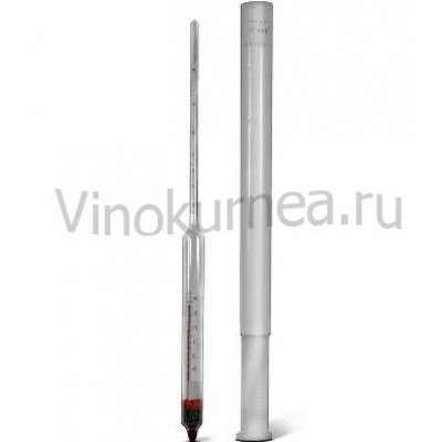 Спиртомер с термометром 0-60 АСП-Т