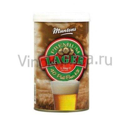 Солодовый экстракт Muntons Lager 1,5 кг