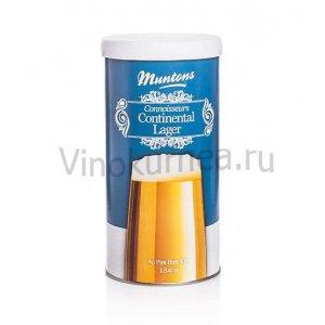 Солодовый экстракт Muntons Continental Lager 1,8 кг