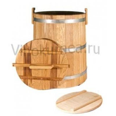 Кадка дубовая (Экспорт) на 30 литров