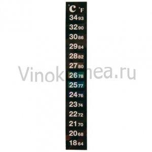 Термометр клеящийся цветовой