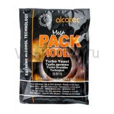 Дрожжи Alcotec «Megapack 100L», 360 гр