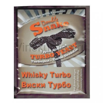 Дрожжи Double Snake «Whisky», 73 гр