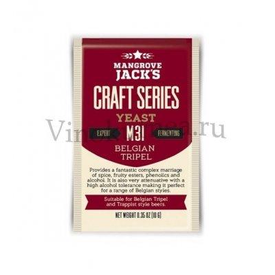Дрожжи Mangrove Jack's M31 Belgian Tippel, 10 гр