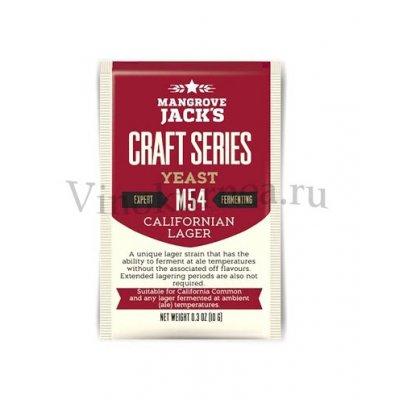 Дрожжи Mangrove Jack's M54 Californian Lager, 10 гр