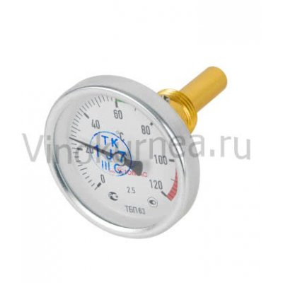 Термометр биметаллический 0-120 гр