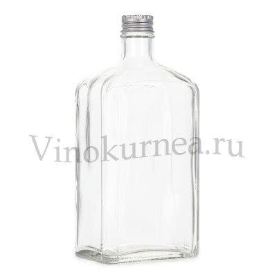 Царский штоф 0,5 литра (светлое стекло)