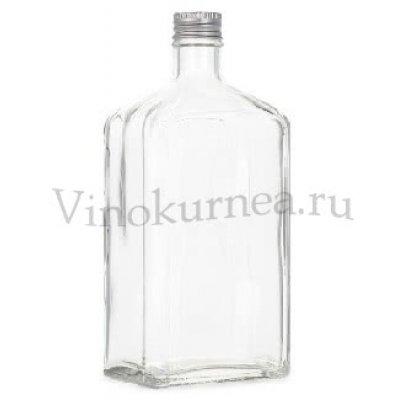 Царский штоф 1 литр (светлое стекло)